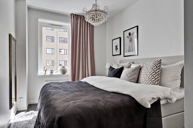 Sovrum beläget mot innergården