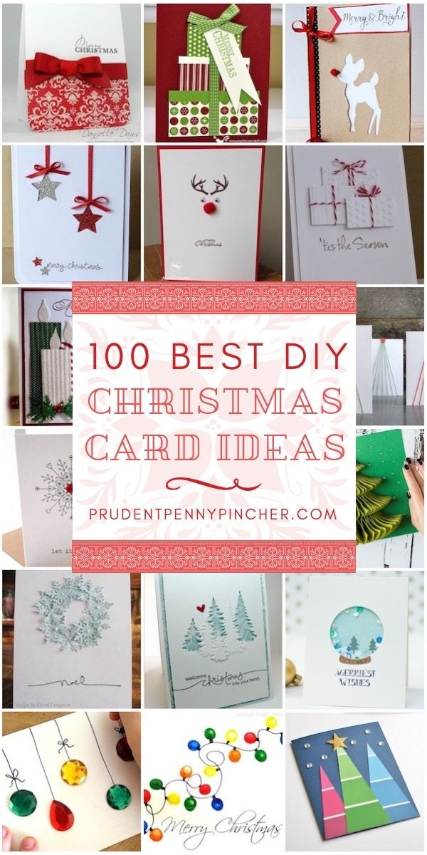 100 Best DIY Christmas Cards | Holiday: Cheap Christmas & Holiday ...