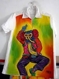 hermosa  camiseta carnavalesca de marimonda