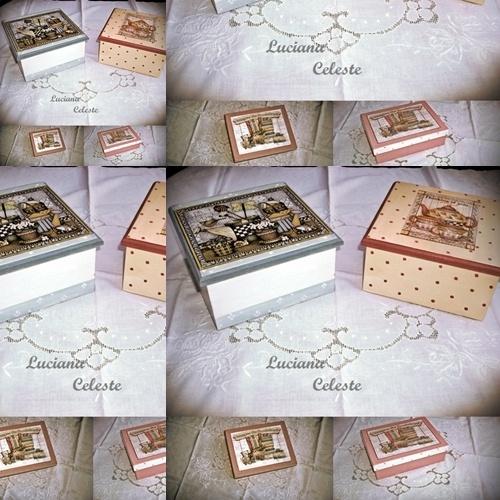 Cajas infantiles decoracion decoupage.