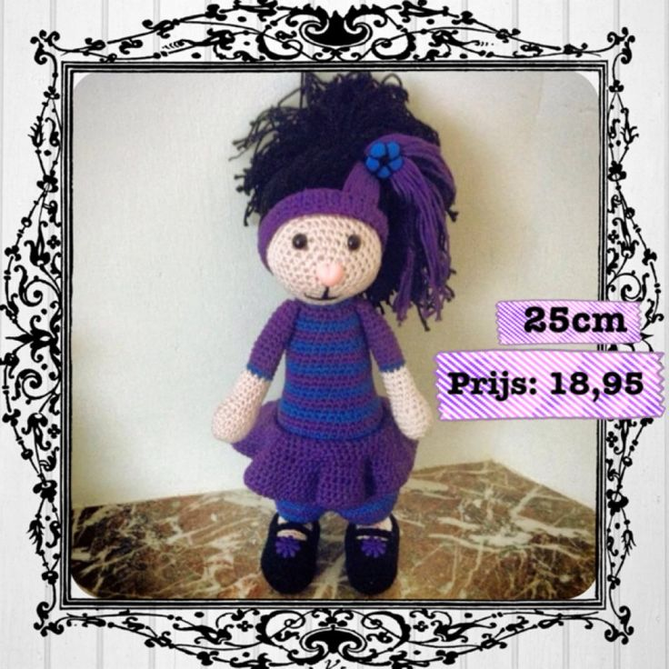 Purple Girly Check FB: Made by Miem