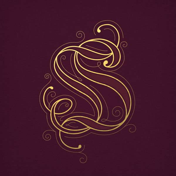 Wedding Monograms by Sulekha Rajkumar, via Behance
