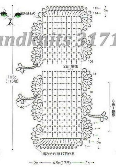 1004 best diagramas crochet images on pinterest