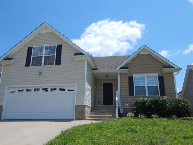 366 chalet circle clarksville tennessee 37040 3 bedrooms - 3 bedroom homes for rent in clarksville tn ...