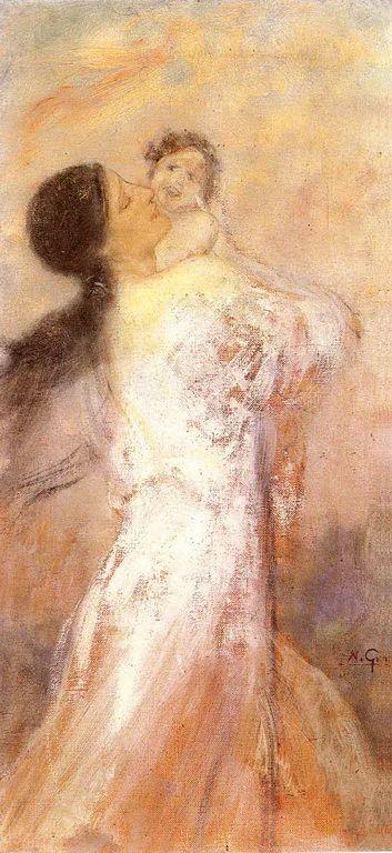 Γύζης Νικόλαος – Gyzis Nikolaos [1842-1901] Μητρική στοργικη