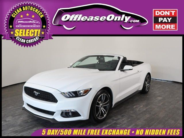 Ebay Mustang Ecoboost Premium 2017 Ford Mustang Fordmustang