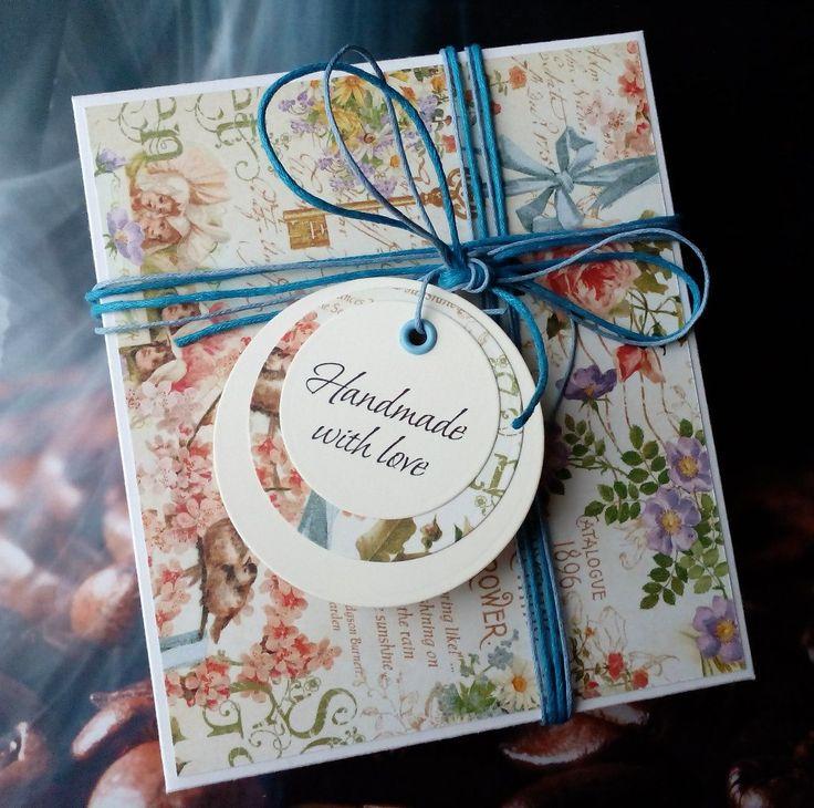 Подарочная упаковка для текстильного сердца