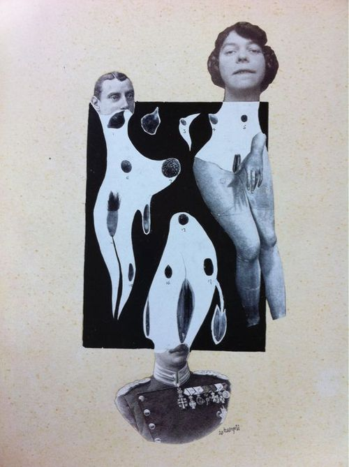 baargeld, collage, 1920