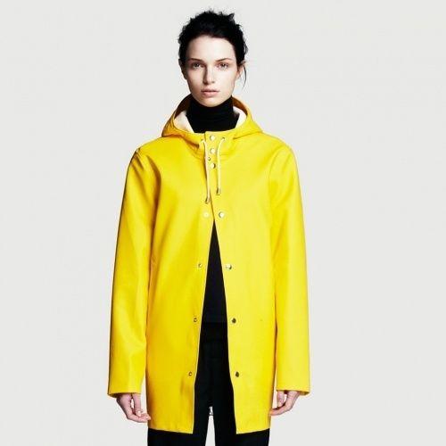 Stockholm Coat in Yellow