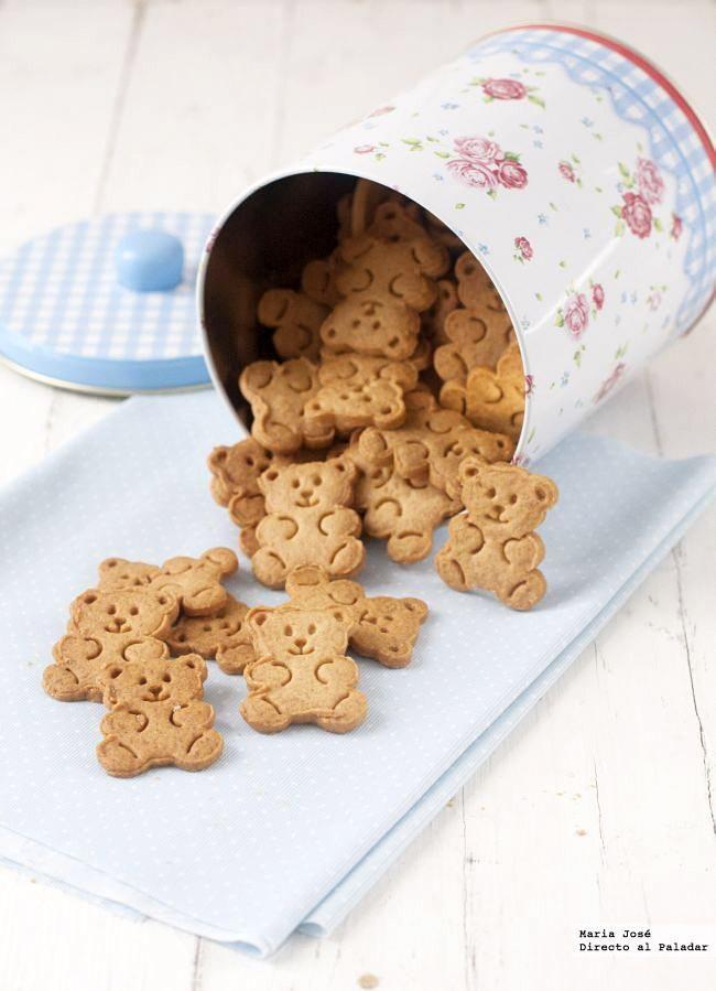 Receta de galletas extra crujientes.