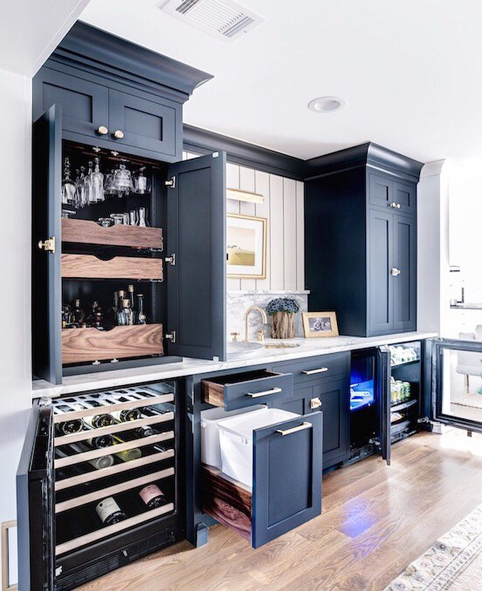 The Ultimate Home Wet Bar Who S Having Friends Over Tonight Bars For Home Kitchen Pantry Design Home Bar Designs