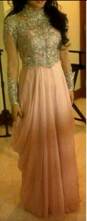 Gorgeous Pakistani anarkali dress. How perfect would this be for the engagement party?