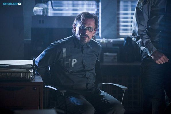 "#TheFlash 1x07 ""Power Outage"" - Robert Knepper as (William Tockman/Clock King)"