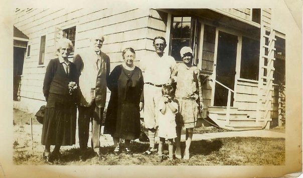 My dad is the little boy in this shot. . . Thomas Edison is the old man! Taken in Florida, circa 1928