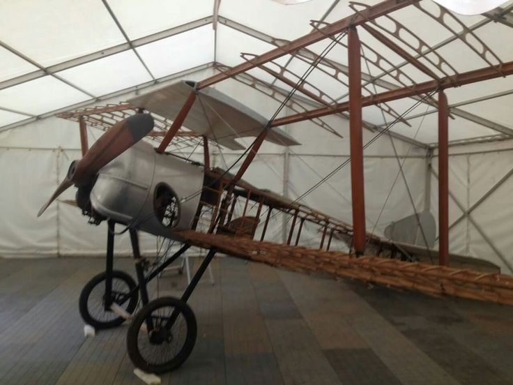 The only original Sopwith Pup in existence which served with the Royal Flying Corps goes on display today at National Trust Tyntesfield for the next 10 days. Check out the pilot's wicker chair!  BBC Radio Bristol