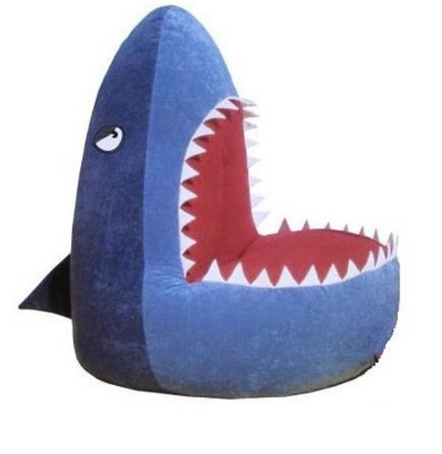 1 Creative and Col Bean Bag Designs Shark Picture on VisualizeUs. Cool Bean  Bags, Chair ... - 33 Best Workshops: Bean Bags Images On Pinterest Bean Bag Chairs