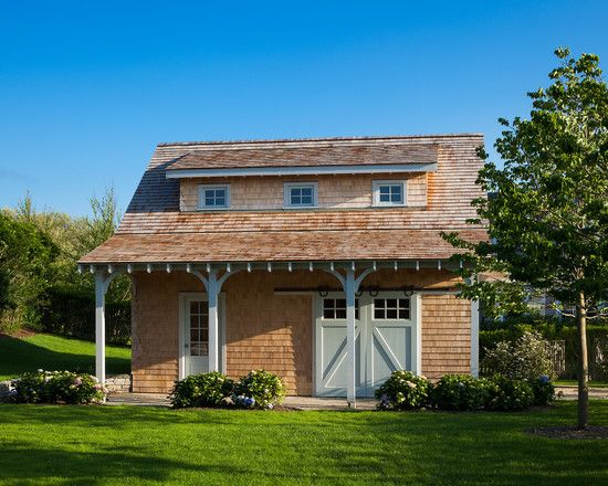 Stunning And Enjoyable Farm Space : Traditional Detached Garage And Shed Old Westmoor Farm