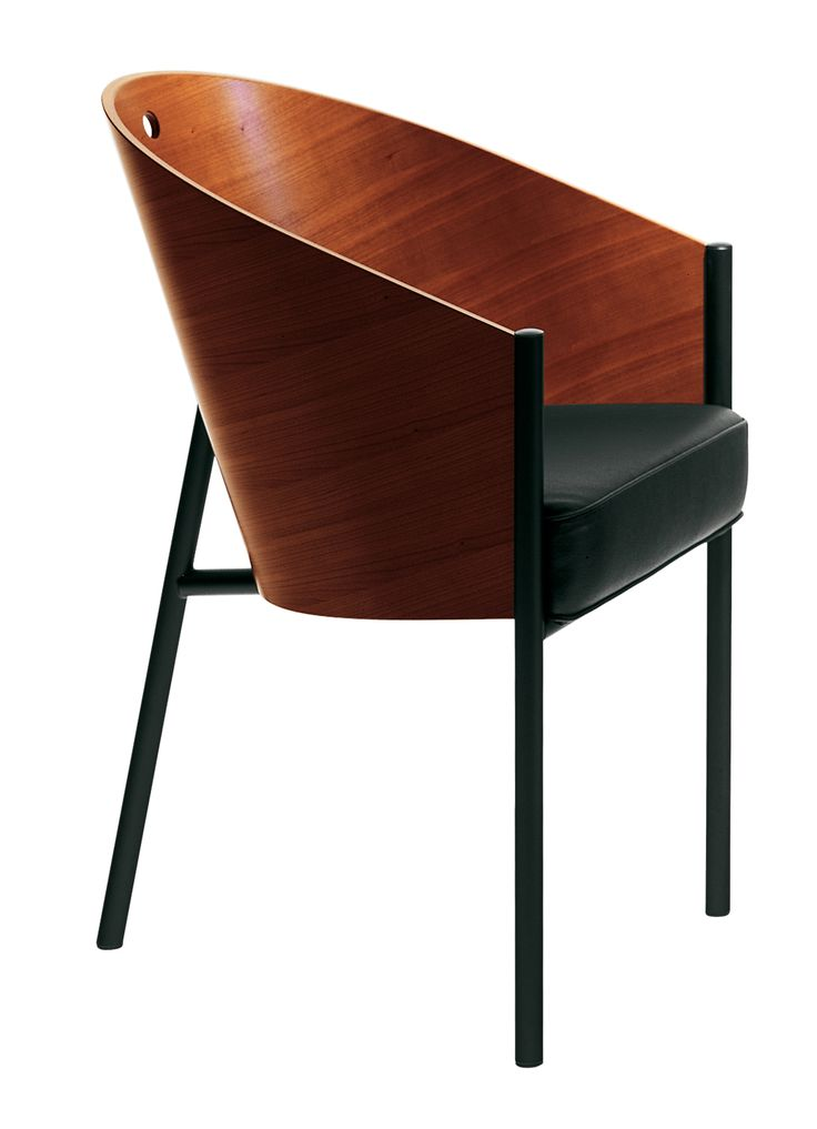 The Costes by Philippe Starck is really one of the most comfotable dining room chairs I´ve ever sat in. And it´s elegant.