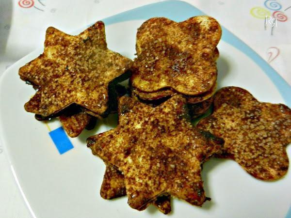 Galletitas de canela Exprés (con tortillas de trigo)