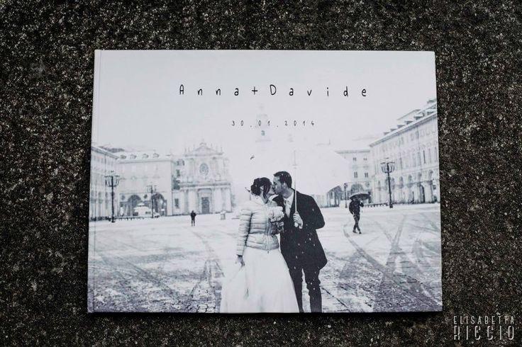 Ecco un Album Fine Art per un matrimonio sotto la neve. www.elisabettaricciowedding.com