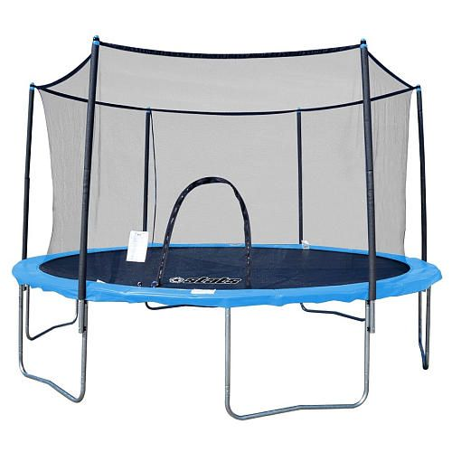 Ideal Stats Trampoline and Enclosure Combo foot Styles May Vary