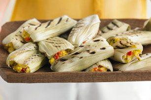 Tamales de elote a la parrilla Receta - Comida Kraft