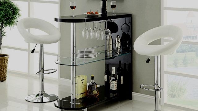 41 Mini Bar Designs For Living Room To Cheer The Beer Mini Bar Modern Home Bar Home Bar Table