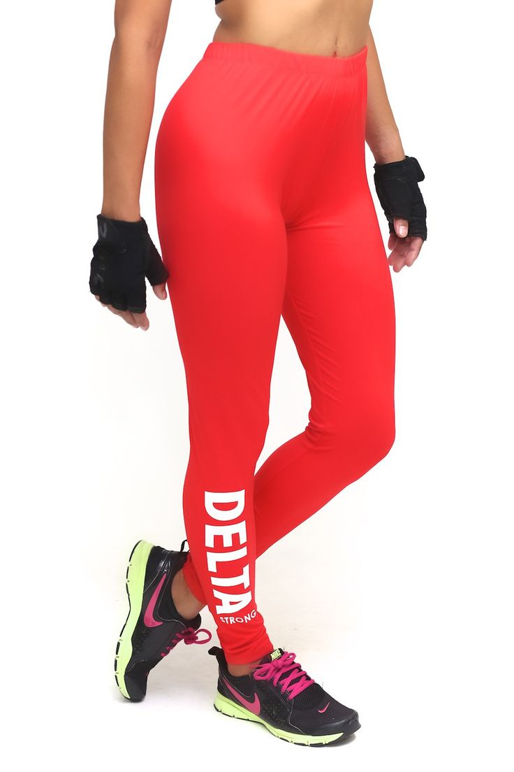 Every woman who is serious about fitness needs a staple pair of solid leggings. Think of these like bread, eggs and milk to your grocery list. And every now and then, you may need to channel the inner