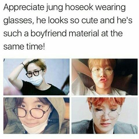 Not only boyfriend material, but also husband material! Where can u find a guy like Hobi?!