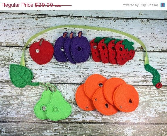 On Sale Mini Hungry Caterpillar Inspired by RosieKEmbroidery