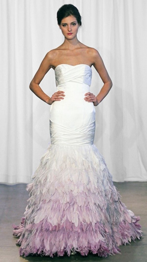 36 colorful wedding dresses that prove you do not have to wear white