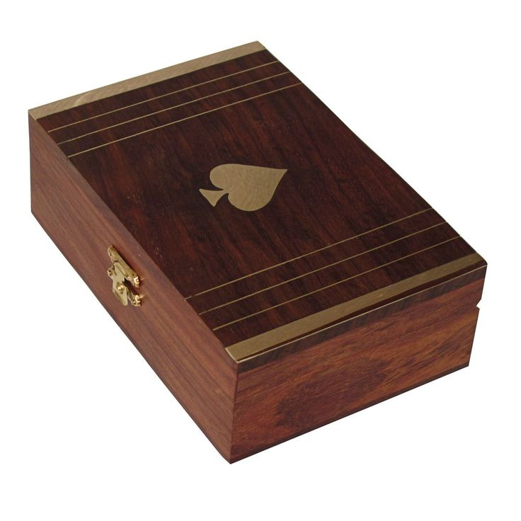 Gift Ideas Wooden Jewelry Box Brass Inlay Work from India: Amazon.co.uk: Kitchen & Home