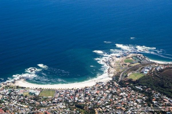 The view from Table Mountain over Camps Bay.  #tablemountain #capetown #travel #beourguest
