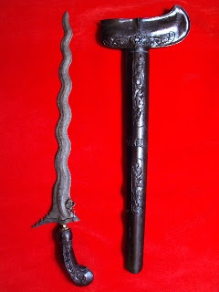 "Antique - Keris Naga Siluman ""Dragon Devil Knife"""