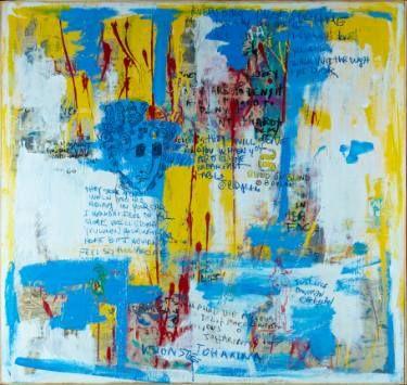 "Saatchi Art Artist Mati Russo; Painting, ""Visions of Johanna"" #art"