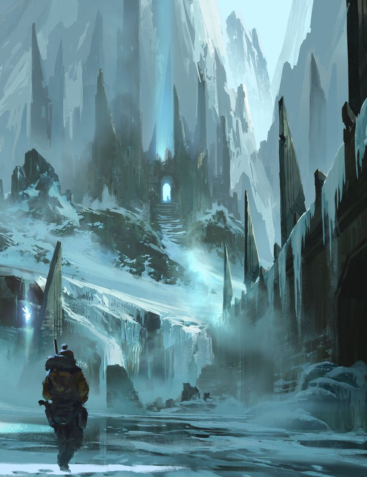 Lost fortress ryan gitter on artstation at http www for Architecture fantastique
