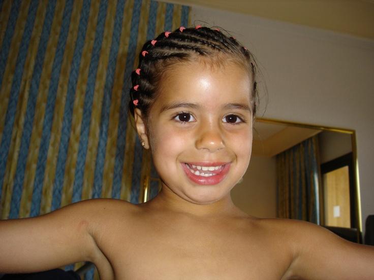 Mi hija Lucía <3 en 2005.