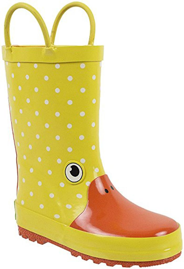 Yellow Duck Rain Boots For Kids. 15+