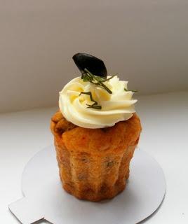 E hoje vai ser uma festa!: Receita de Cupcake Salgado