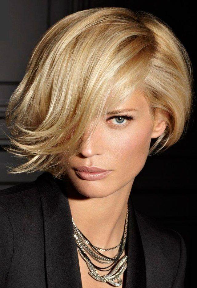 Простые прически для средних волос