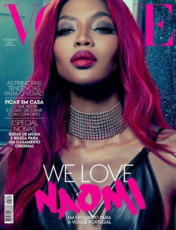 True Colors - Original SuperModel Naomi Campbell is ''suprême'' for Vogue Portugal, February 2016