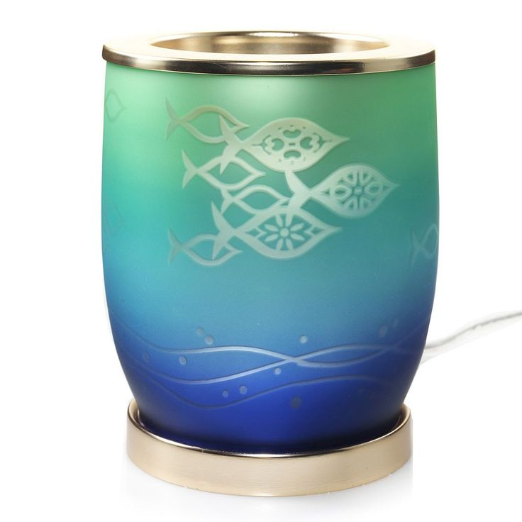Yankee Candle simply home Scenterpiece Seaside Silhouette Timer Wax Melt Warmer, Multicolor