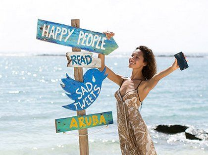 A $4,999.00 Trip for 2 via Jet Blue Travel Certificates, 4 Nights in Aruba could be yours. Stressed out? Bad weather? Need to relax? Just enter a Tweet or a Post about why you really need an escape to Aruba.