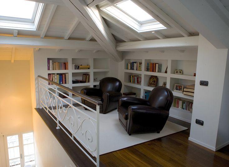 Come creare un angolo lettura in Mansarda, Soppalco e