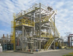 Gevo Inc. operates several facilities, including a hydrocarbon demonstration plant in Silsbee, Texas. <br><small>Gevo Inc. </small>