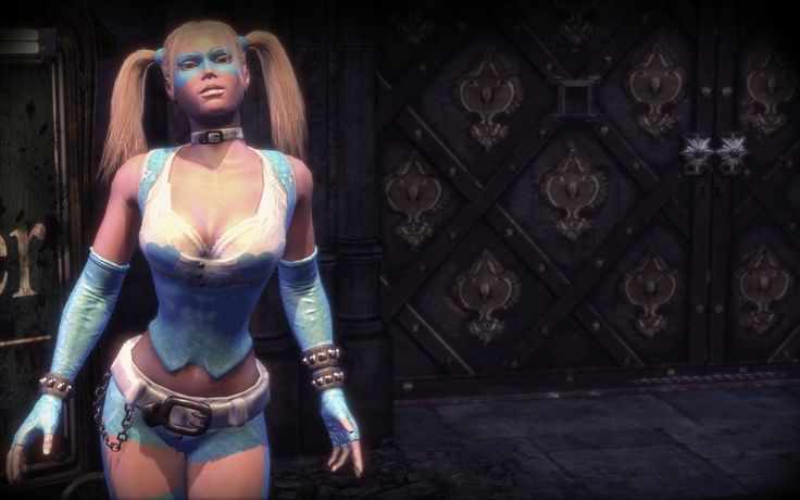 Batman Arkham City Harley Quinn Mod R.Mika skin by new ...