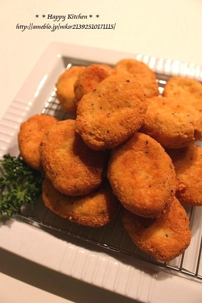 冷凍豆腐で*ガーリックチーズナゲット*パンチラって何? | たっきーママ オフィシャルブログ「たっきーママ@happy kitchen」Powered by Ameba