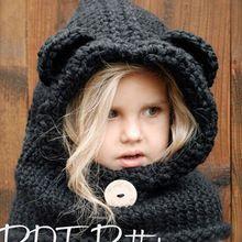 Winter Zwarte Baby Hoed en Sjaal Joint Met Haak Gebreide Caps voor Infant Jongens Meisjes Kinderen Kids Halswarmer Winter gebreide(China (Mainland))