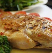 cá điêu hồng nướng muối ớt