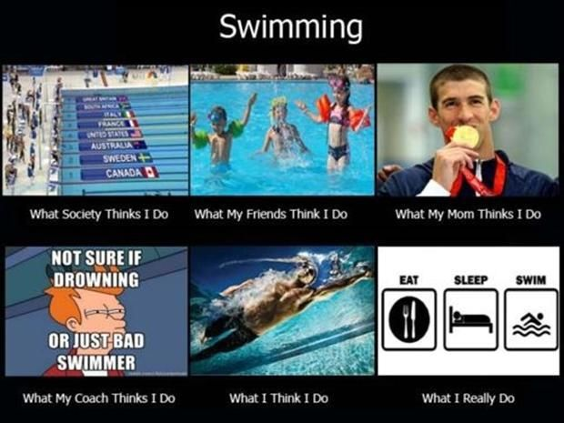 This is so true for me! Swimming is an awful sport but it keeps you in great shape!